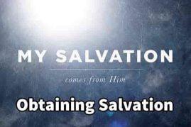 Obtaining Salvation